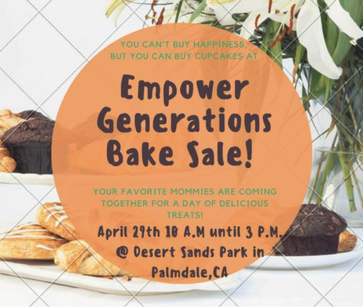 Empower Generations Bake Sale