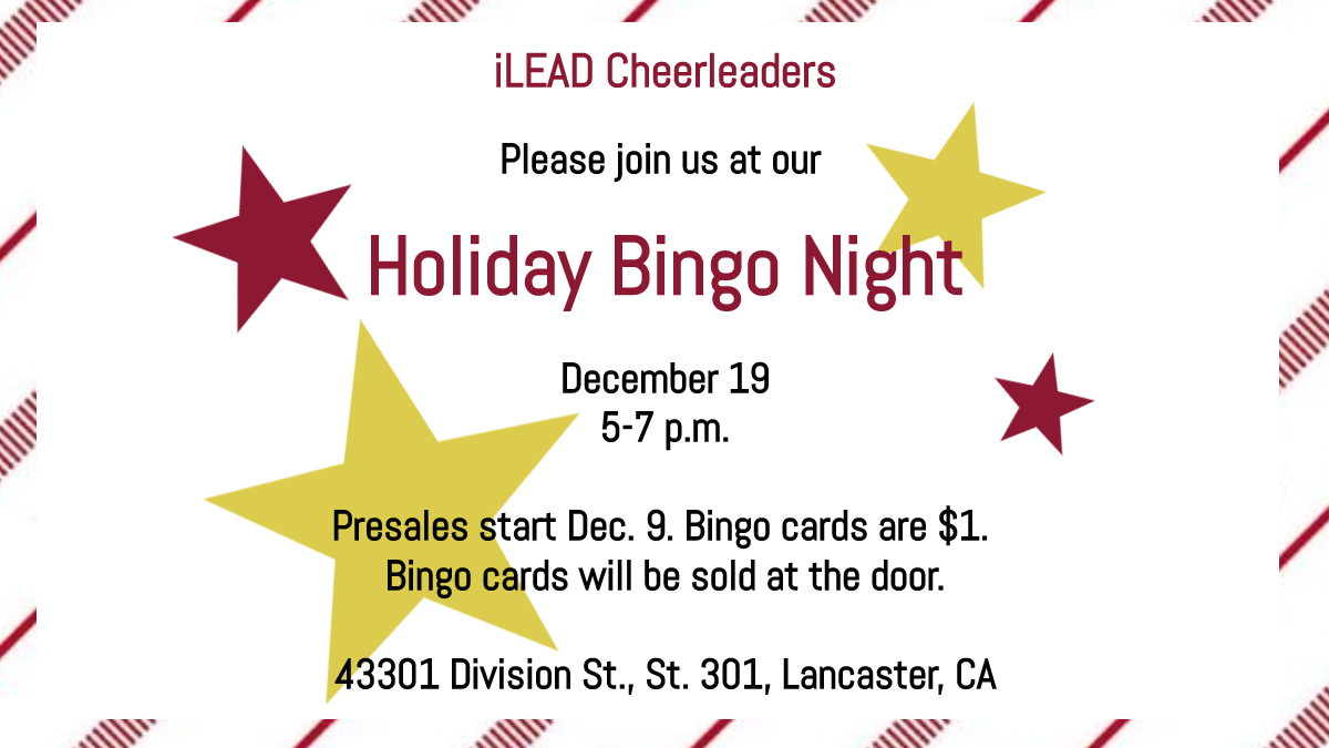Empower Generations Holiday Bingo Night