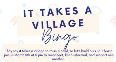 Empower Generations It Takes a Village Bingo