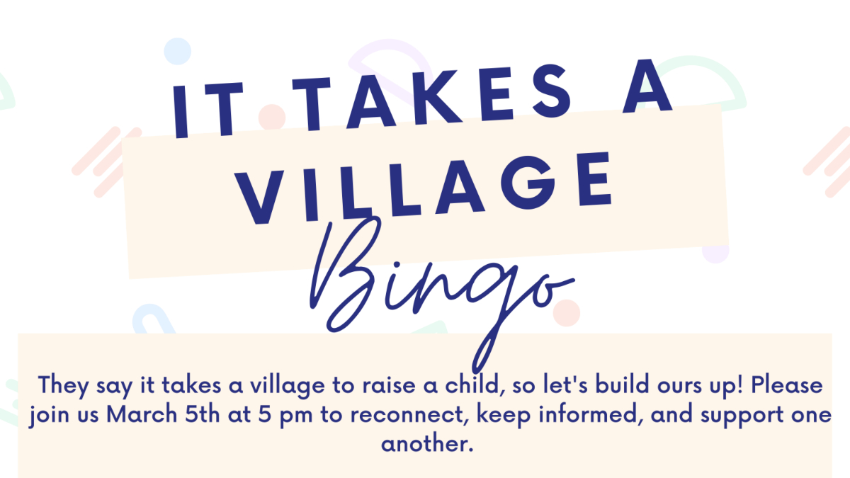 Empower Generations It Takes a Village Bingo