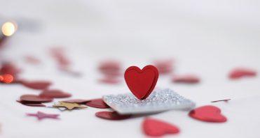 heart confetti Empower Generations