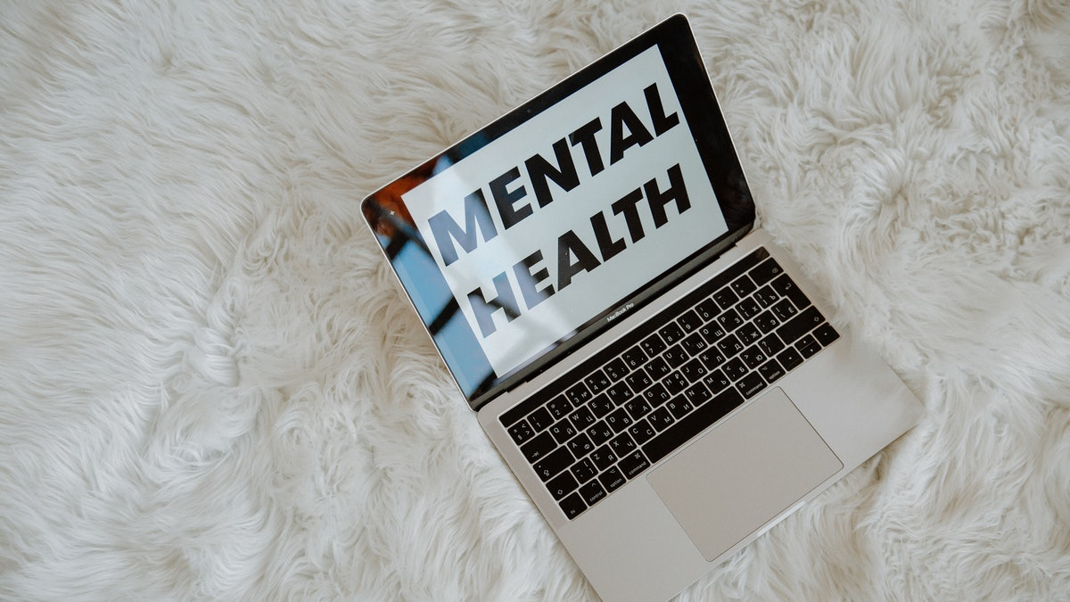 mental health laptop carpet