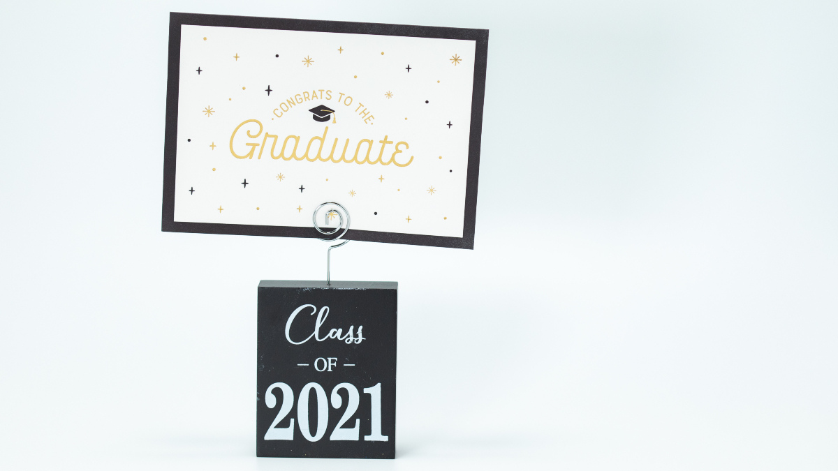 Class of 2021 sign